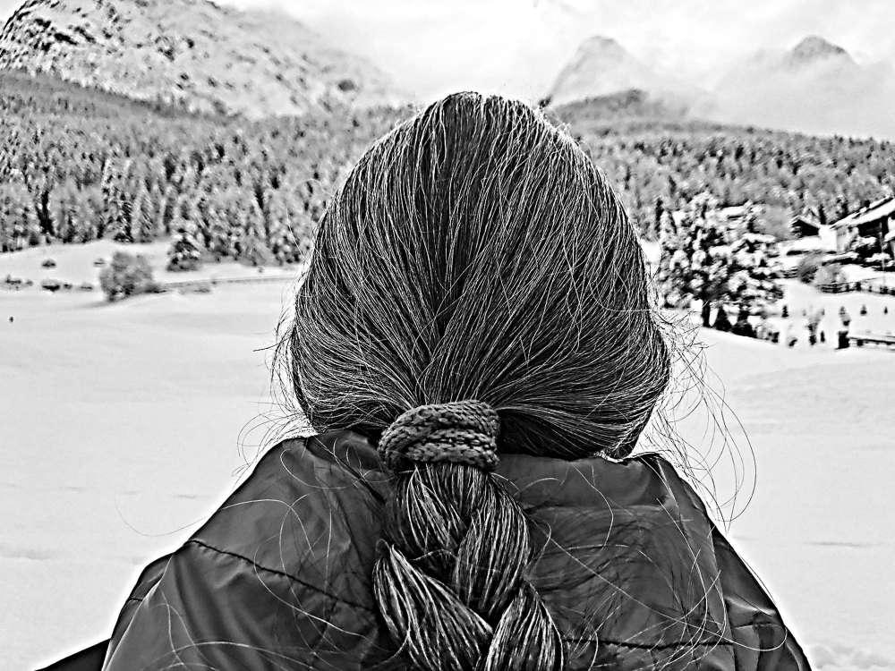 in die Berge